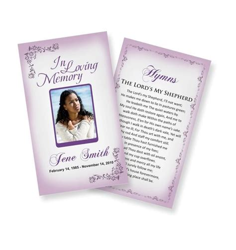 funeral prayer card template 1000 images about juanita cards on