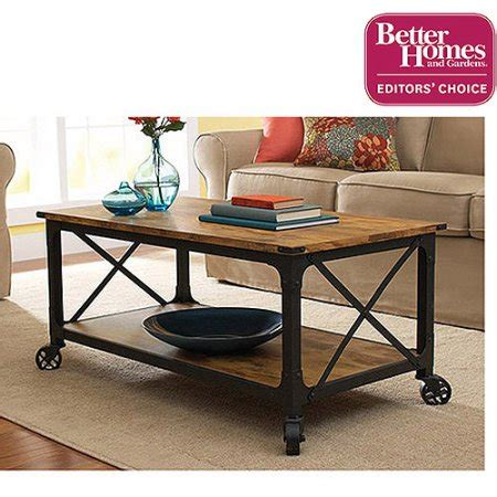 rustic country coffee table better homes and gardens rustic country coffee table