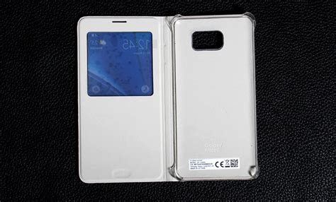 S View Flip Cover For Samsung Galaxy On5 samsung galaxy note 5 s view flip cover with official packing inones leather co limited