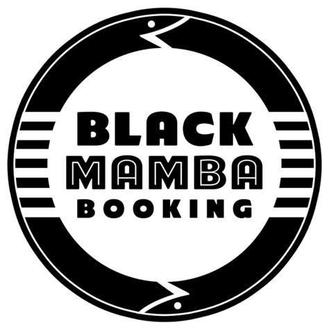 mjordan art design black mamba booking logo