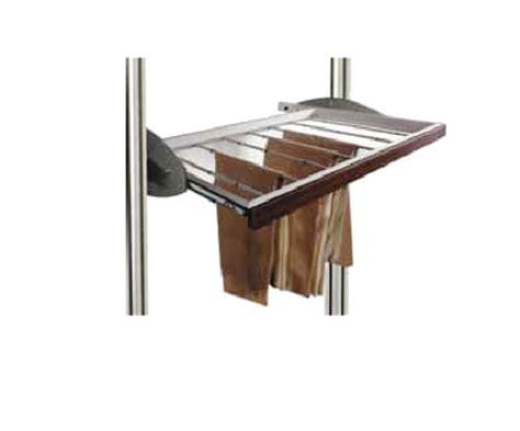 portapantaloni da armadio portapantaloni alluminio per cabine armadio quadro