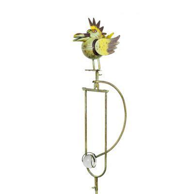 Rocking Bird Garden Ornament Buy Spike The Rocking Metal Bird Garden Ornament From Our Decorative Garden Animals Range Tesco