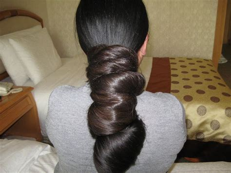 the biggest hair bun in the world indian long hair bun indian long hair bun pinterest