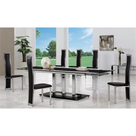 8 Seater Glass Dining Table Dining Room Furniture Furniture In Fashion