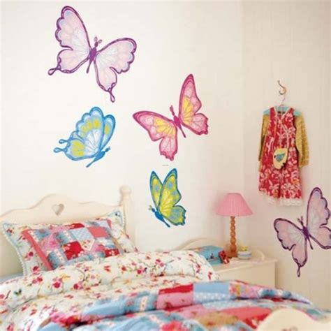 cool wall stickers to complete kids room decor digsdigs kids room decor with cool wall stickers girls kids room