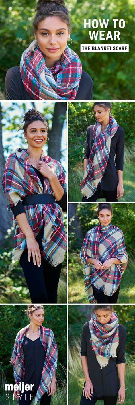 knot twist and drape scarf best 25 blanket scarf ideas on pinterest wearing