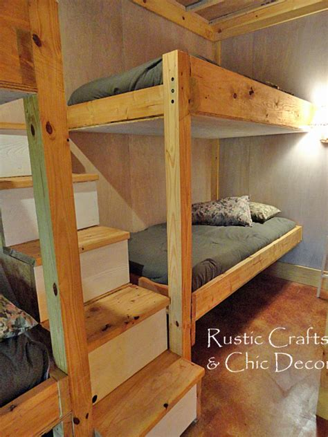 homemade bunk beds cabin bunk bed plans pdf woodworking
