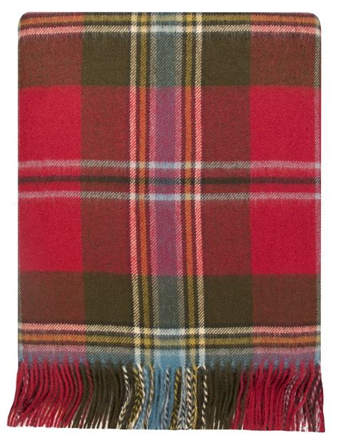 Lambswool Rugs by Isle Of Tartan Lambswool Travel Rug