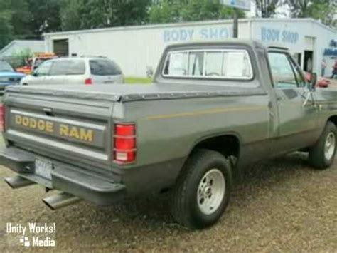 1985 dodge truck 1985 dodge ram 1500 truck 16855y in salem alliance oh