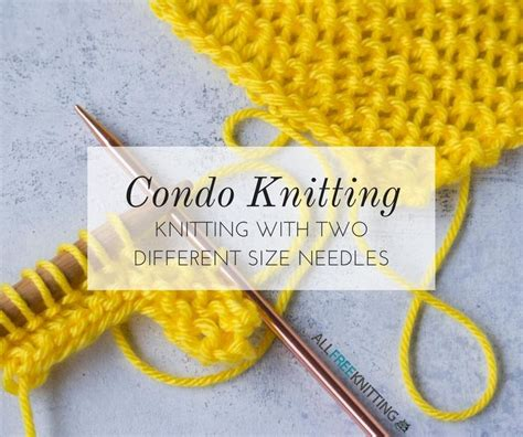 knitting with 2 different size needles 394 best knitting tips how tos images on