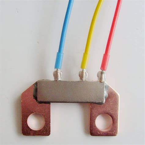 what material are shunt resistors made of and why shunt resistor for electicity meter 340 micro ohm in no 211 of yanbei road jiaxing exporter