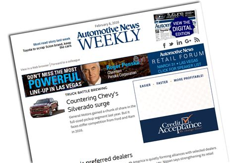 Ford Credit Goodwill Letter Opinion And Feedback Automotive News