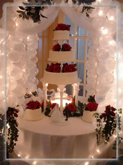 wedding cake table ideas jodonna s our cake table gazebo porvides a wonderful compliment to your wedding cake