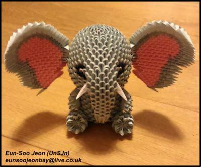 3d Origami Elephant - origamianimal explore origamianimal on deviantart