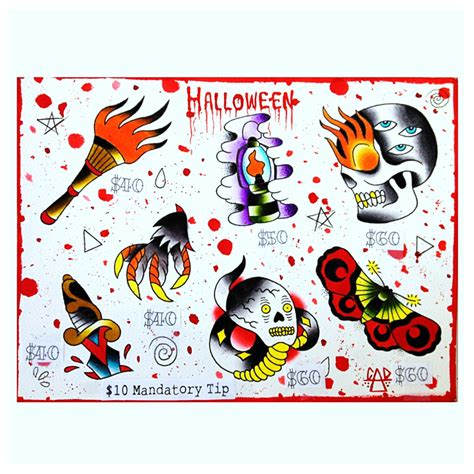 halloween tattoo specials specials events promotions