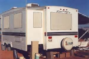 exterior rv window covers rv windshield sun shade
