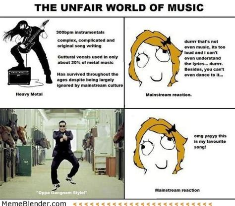 Rock Music Memes - heavy metal your brain and sums it up on pinterest