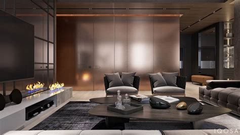 apartment design exles luxury apartment interior design using copper 2 gorgeous