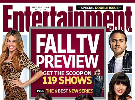 entertainment weekly fall tv preview ew unveils sprawling fall tv preview from new shows with