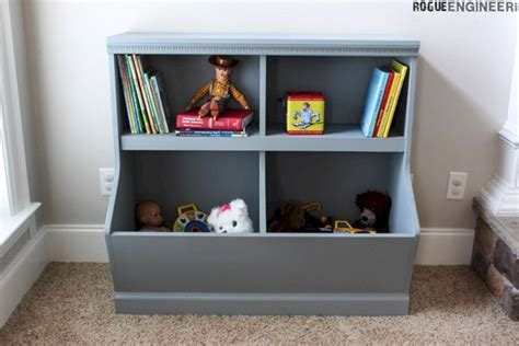toy box bookcase  storage plans decoredo