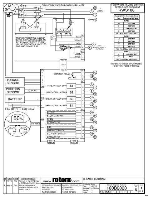 ROTORK WIRING DIAGRAM 3000 - Auto Electrical Wiring Diagram