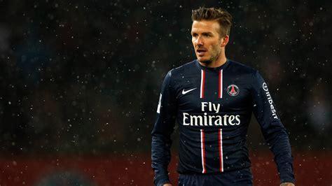 Wallpaper David Beckham, Paris Saint Germain, Football