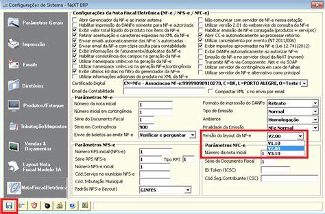 layout completo nf e 3 1 next software sistemas erp e nota fiscal eletr 244 nica nf
