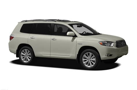 2010 Toyota Highlander 2010 Toyota Highlander Hybrid Price Photos Reviews