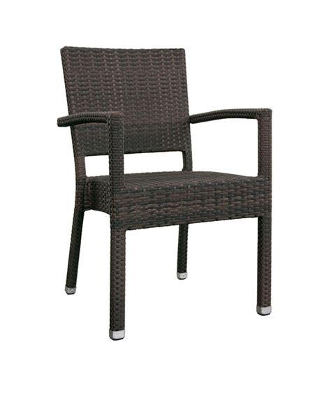 chaise aluminium exterieur m0149 fauteuil tress 233 le mobilier du pro