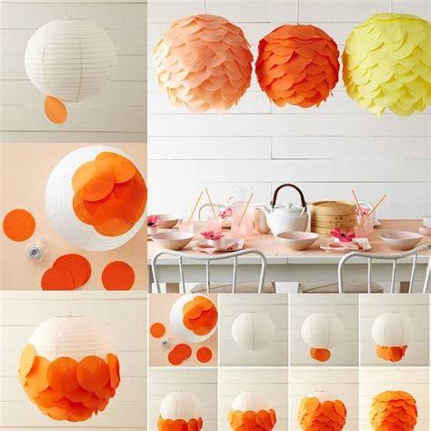 How To Make Hanging Paper Lanterns - diy tissue paper hanging lanterns pictures photos and