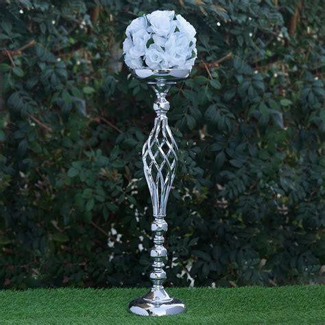 metal wedding flower decor candle holder vase centerpiece
