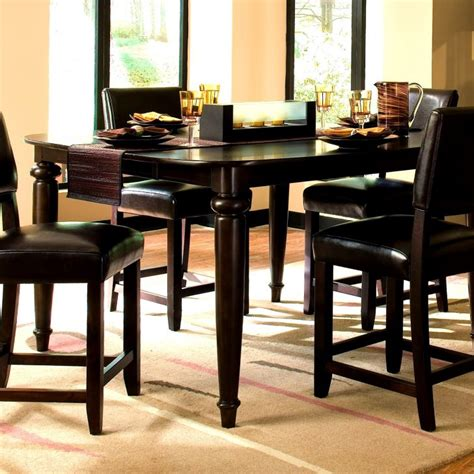 high dining room tables and chairs granite top counter height dining table sets room high
