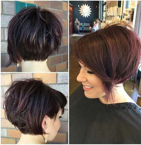 haircuts for thick hair 2017 unique short hairstyles for thick haired ladies the best