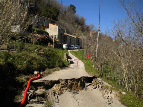 ultime notizie delle marche dissesto idrogeologico a rischio il 20 territorio