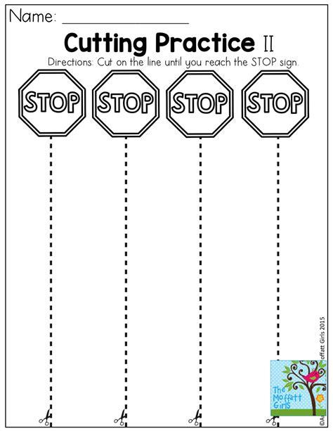 preschool scissor activities printable cutting practice tons of fun effective and hands on
