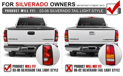 2003 chevy silverado led tail lights 2003 2004 2005 2006 chevrolet silverado chrome led brake