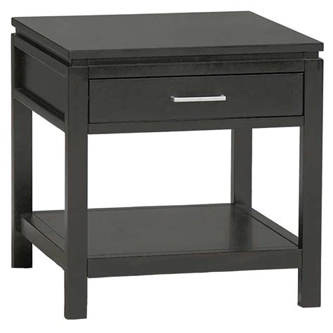 Black End Tables Sutton Black End Table By Linon Home Decor In Side Tables