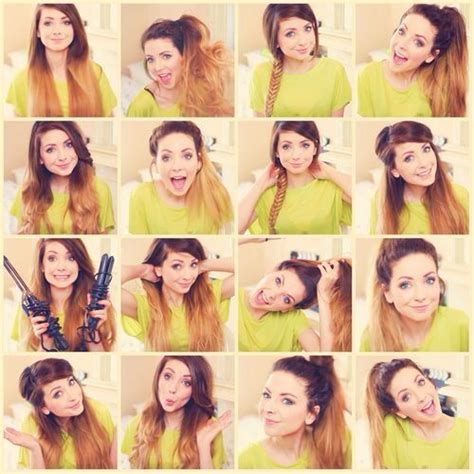 easy everyday hairstyles zoella 12 best zoella images on pinterest british youtubers