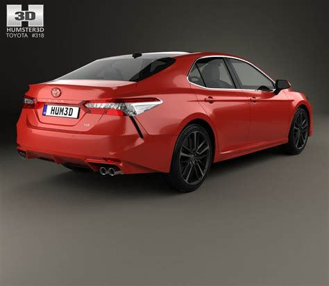 Toyota Camry Models by Toyota Camry Xse 2018 3d Model Hum3d