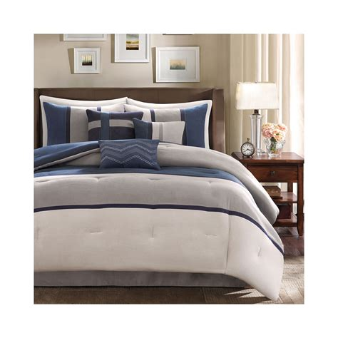 get madison park warner 7 pc comforter set offer