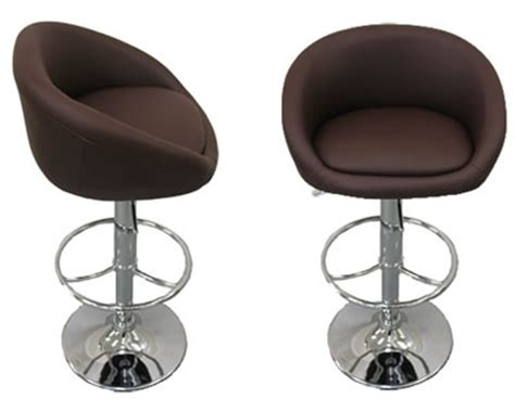 Brown Leather Breakfast Bar Stools by Stoolsonline Kitchen Bar Kitchen Counter And Chrome