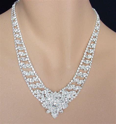 how to make rhinestone jewelry swarovski austrian rhinestone necklace and pierced