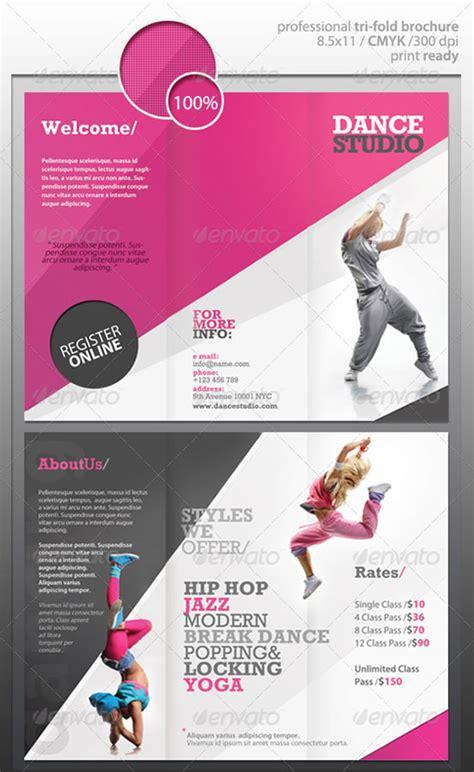 Design Studio Brochure by Creative Tri Fold Brochure Design Templates Website