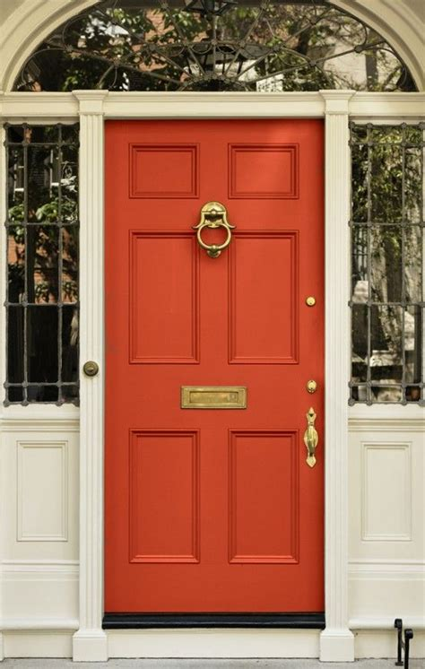 bright front doors 17 best ideas about coral front doors on coral