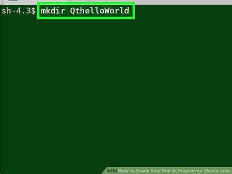 qt programming knowledge how to create your first qt program on ubuntu linux 7 steps