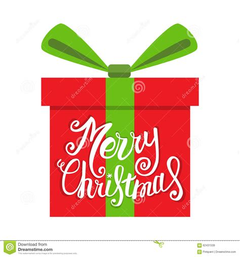 vector merry christmas greeting card gift boxes  greeting text merry christmas stock vector