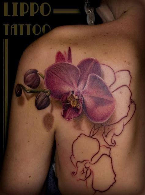 orchid tattoo edmonton review 18 fabulous orchid tattoos tattoodo
