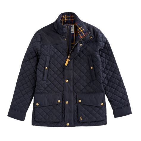 Quilted Mens Jacket joules rambleside mens quilted jacket