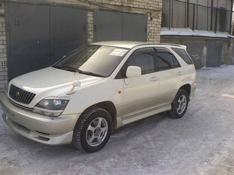 1999 toyota harrier 1999 toyota harrier pictures