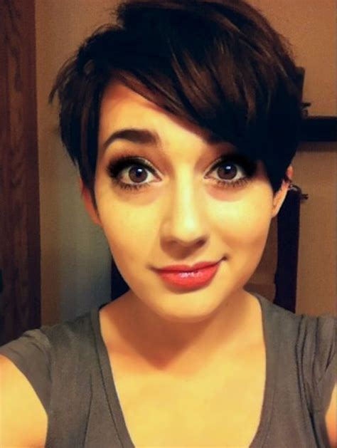 How To Style Pixie Cut With Long Bangs | pixie cut with long bangs make me over pinterest